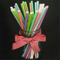 Beautiful Decorative Paper Straws Drinking Straws Fit Family Gatherings Manufactures