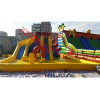 OEM Renting Kids Commercial Outdoor Inflatable Bounce Houses Water Slides for pools Manufactures