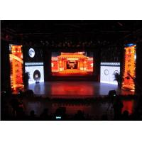 P2.9 Stage Backdrop Indoor Advertising LED Display With 4000Hz Refresh Rate Manufactures