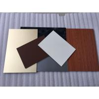 Green PVDF Aluminum Composite Panel Sound Insulation With Weather Resistance Manufactures