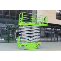 Loading capacity 320kg Self Propelled man lift 12m for maintenance Manufactures