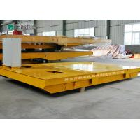 Busbar powered bogie heavy duty industrial material trolley electrical for sale Manufactures