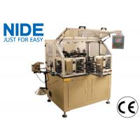 Manual Motor Rotor Winding Machine Touch Screen For Hook Type Commutator Armature Manufactures