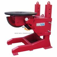 Tiltable Manual Pipe Welding Positioners 400mm Stroke Table Elevation Manufactures