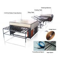 Double Insulating Glass Production Line / Machine with 5 Pairs Rollers Manufactures