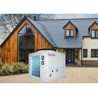China 12kw Air To Water Heat Pump Water Heaters For Commercial Buildings on sale