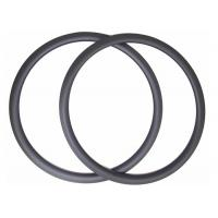 Quality High Stiff 38MM Carbon Road Bike Rims U Shape Clincher With Matte / Glossy for sale