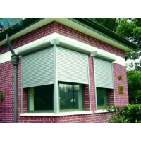 Residential 2mm 4500PA Wind Load Automatic Window Shutters Manufactures