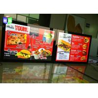 Quality Edge Lit LED Poster Frame Light Box 27X40 Movie Panel Aluminum Wall Mounted for sale