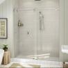 Buy cheap Top Roller Bathroom Sliding Glass Door Frameless Shower Enclosure from wholesalers