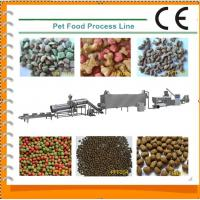 Multi Functional Dog Biscuit Making Machine Turnkey Project For Dog / Cat Manufactures