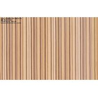 Quality Constructional Engineered Zebrano Wood Veneer Wall Panels Artificial for sale