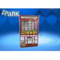 Malaysia Crane Game Machine , Claw Toy Game 1100*W1150*H2140 mm Manufactures