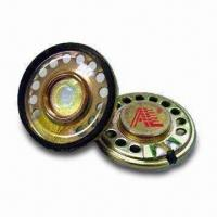 30mm Mylar Speaker, Comes in Different Thicknesses, Suitable for Telecommunications Manufactures