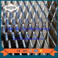 China facade aluminum expanded metal mesh with powder coating Manufactures