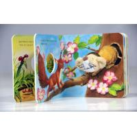Professional Hardback Pop Up Book Printing With Hot Foil Stamping For Kids Manufactures