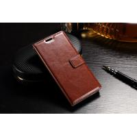 Slim Fit Sony Xz Leather Case Wallet Crazy Horse PU For Drop Protection Manufactures