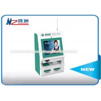 Free Standing Wall Mount Kiosk For Hotel Self Check In Low Power Consumption