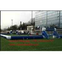 football handball pitch , inflatable arena , inflatable soccer field Manufactures