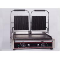 Buy cheap Double Heads Electric Sandwich Griddle Snack Bar Equipment 110V/220V from wholesalers