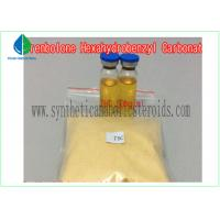 China Raw Steroid Powders Tren Hexahydrobenzylcarbonate EINECS 245-669-1 GMP Standard on sale