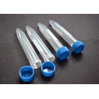 Quality OEM Laboratory Consumables Transparency Screw Cap Centrifuge Tubes 15ML 50ML for sale