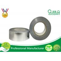 High Heat Aluminum Foil Tape With Adhesive Sliver / White Color Manufactures
