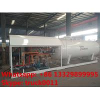 Quality 2017s bottom price CLW brand 10,000L mobile skid lpg gas station, skid lpg gas for sale