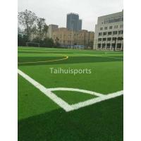 Soccer Court Artificial Turf Underlay Grass Carpet Anti-Vibration UV Proof Manufactures