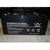 200ah Long Life Lead Acid Battery Manufactures
