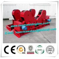 Self Aligned Pipe Welding Rotator Column Boom Pipe Welding Turning Roll For Tank Manufactures