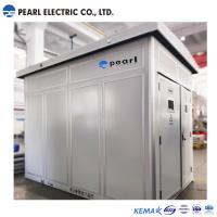 High Voltage / Low Voltage Pre Fabricated Substaion With Dry Transformer Manufactures