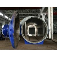 Horizontal High Pressure Composite Autoclave Pressure Vessel Of Aircraft Making Manufactures