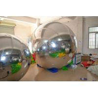 Custom Exclusive Inflatable Mirror Balloons Ornaments for Fashion Show Manufactures