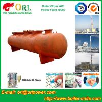Water proof coal fired boiler mud drum ORL Power Manufactures