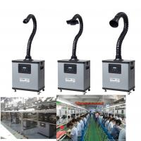 Four Wheels Portable Chemical Fume Extractor System For Purification , High Efficiency Manufactures