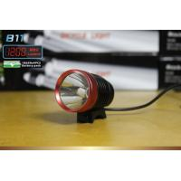 Quality 10W Cree LED Bicycle headlight 1200 Lumen , rechargeable front bike light for sale