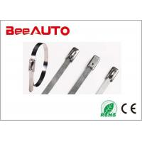4.6 Series Stainless Steel Cable Tie Rustproof 4.6 * 100mm Working Temperature - 80℃ ~ 538℃ Manufactures