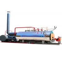 Steam Output Fuel Oil Steam Boiler 1.5 Ton For Vulcanization Molding Manufactures