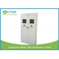 Safety Fireproof Lab Gas Cylinders Storage Cabinets With Gas Leaking Alarm Manufactures