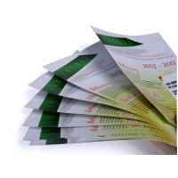 Quality Glossy varnishing, folding 157gsm C2S Art / Fancy Paper Colour Flyer Printing for sale