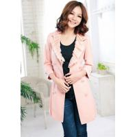 2012 Spring New Sweet Sleeve Deep V Lace Double-breasted Coat Manufactures