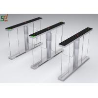 Standard Interface Supermarket Swing Barrier Gate Automatic Turnstiles System Manufactures