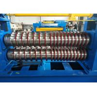 China 3mm Galvanized Steel Coil Slitting And Recoiling Line With 15T Hydraulic Uncoiler on sale