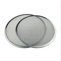 China Square Hole Stainless Steel Woven Wire Mesh Filter Cutting Disc For 900 Mm Dia on sale
