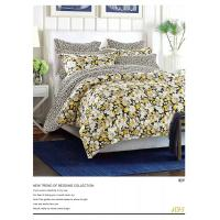 Plain Dyed Microfiber Polyester Bed Set 100 Polyester Sheets Set / Quilt Cover Set Manufactures