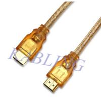 Quality Transparent HDMI Cable A Male to A Male for sale