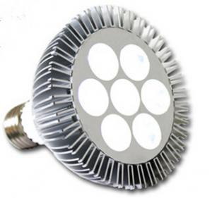 LED bulb Par38 light white color 7*1W Manufactures