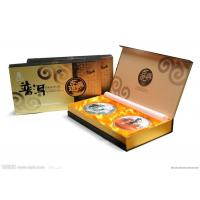 Recycle Hand Made Custom Logo Printed Gift Boxes For Tea , Rectangular shaped Manufactures