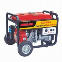 China 5kW Portable Gasoline Generator with Gasoline Engine 188F on sale